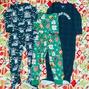 Children's Place pajamas bundle for toddler boys.